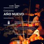 Concierto de Año Nuevo en Teguise (Miércoles, 04 de enero)