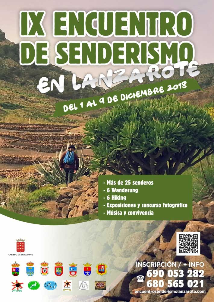 encuentro senderismo Lanzarote 2018