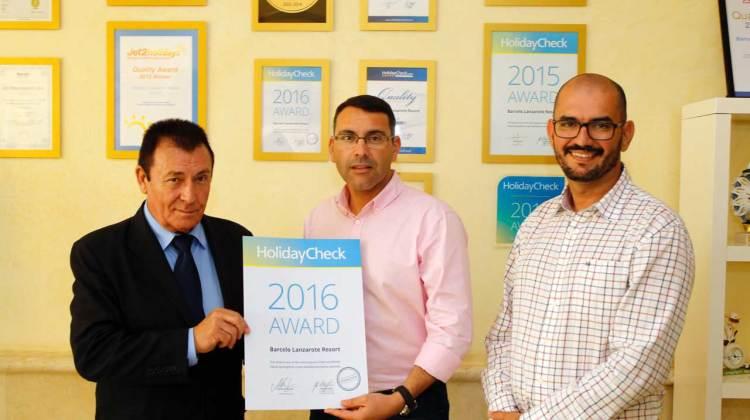 Teguise felicita a los establecimientos hoteleros de Costa Teguise premiados por Tripadvisor y Holliday Check Awards