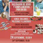 Conviértete en Diseñador de joyas y complementos por un día en C.C. Biosfera (Sábado, 24 de septiembre)