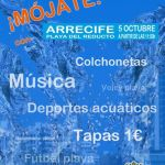 <em>Mójate</em> en Arrecife, Feria de la Tapa y actividades lúdicas (Sábado, 05 de octubre)