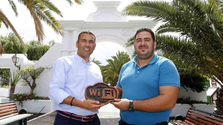 Nueva zona de Conexión Wifi Gratuita en Teguise