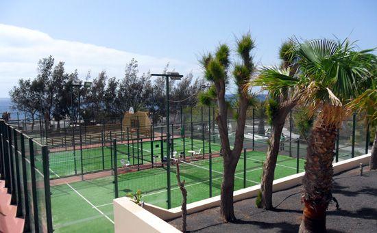 Pistas de pádel del Be Live Resort (Costa Teguise)