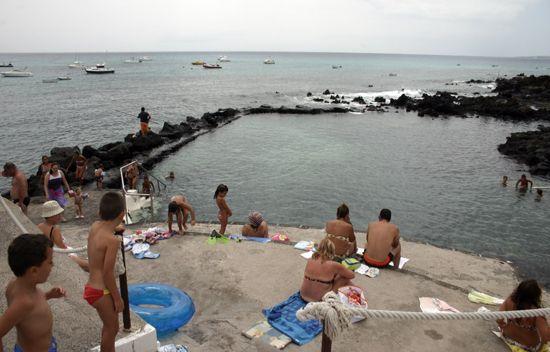 Natural Pools of Punta Mujeres
