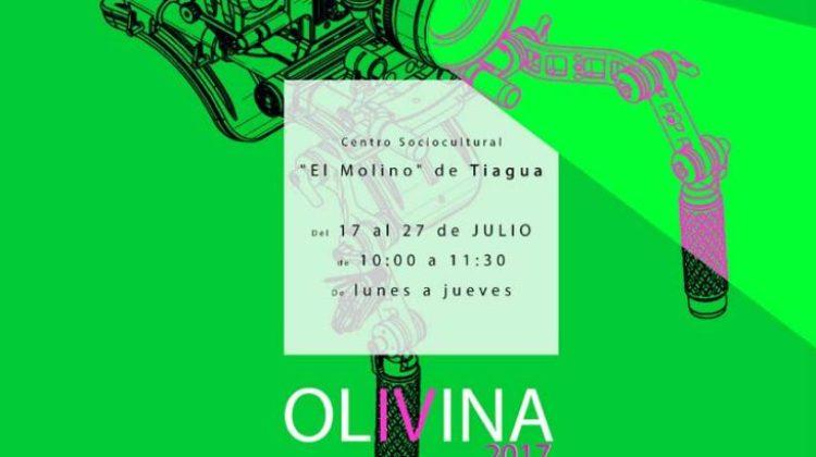 Talleres de rodaje cinematográfico – Programa Olivina (Verano 2017)
