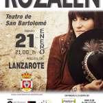 Concierto de Rozalén en San Bartolomé (Sábado, 21 de enero)