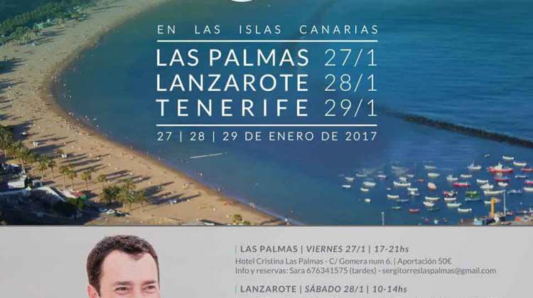 Encuentro con Sergi Torres en Lanzarote (Sábado, 28 de enero)