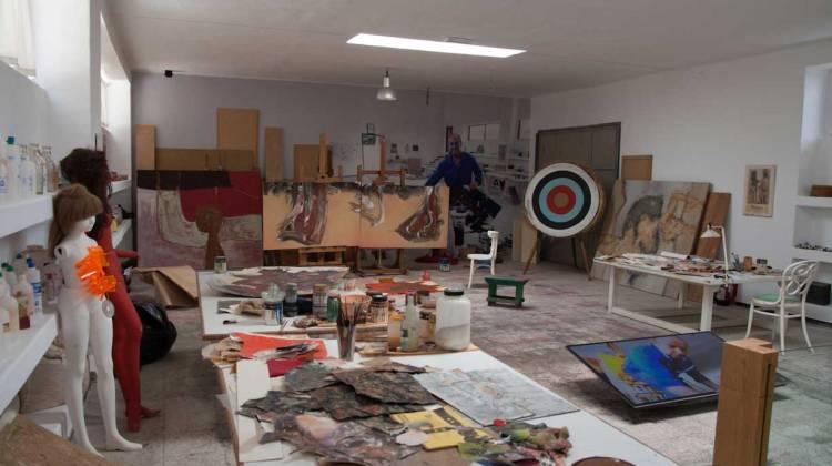 taller pintura cesar lanzarote