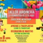 Taller de Jardinería en C.C. Biosfera (Sábado, 08 de abril)