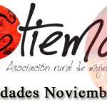 Actividades de la Asociación Rural de Mujeres Tiemar (Noviembre)