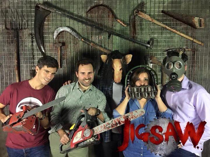 Jigsaw foto de grupo