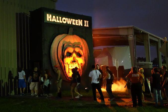 Entrada al pasaje de Halloween II (HHN 2016)