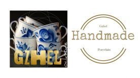 Handmade Blue Gzhel...