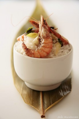 Asian Inspired :: Fried Prawns on Steamed Rice | Recipe and Styling: Orsola Ciriello Kogan | Photo ©LuciaZeccara