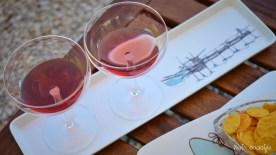 Aperitivo Appetibilis al fresco...   Photo: ©OCKstyle   Plates: Abruzzo Creativo Pescara