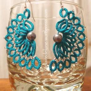 Wave earrings, Corina Meyfeldt