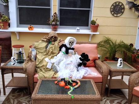 Skelettmys i soffan