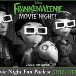 Free Frankenweenie Movie Pack