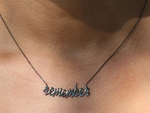 remember necklace