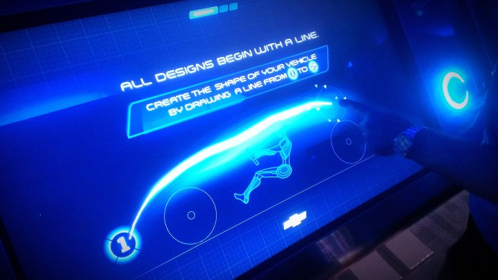 design a car with the chevrolet test track