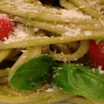 Roasted Asparagus Pesto Pasta Recipe