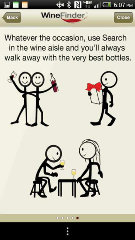 Thumbs Up Wine App for any occasion