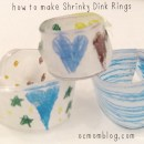 How to Make Shrinky Dink Rings