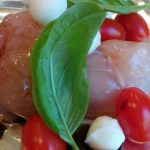 Grilled Caprese Chicken Camping Recipe