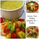 Weekly Family Meal Planning and Recipes Week #1