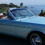 Dad's Day Out Cruising Down PCH with Classic Mustang Rentals