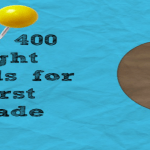 Top 400 Sight Words for First Grade