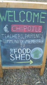 Chipotle is Served at the Food Shed