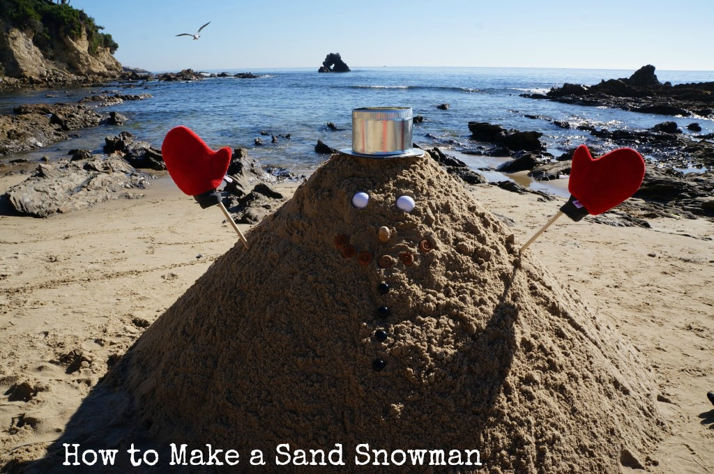 How-to-make-a-sand-snowman