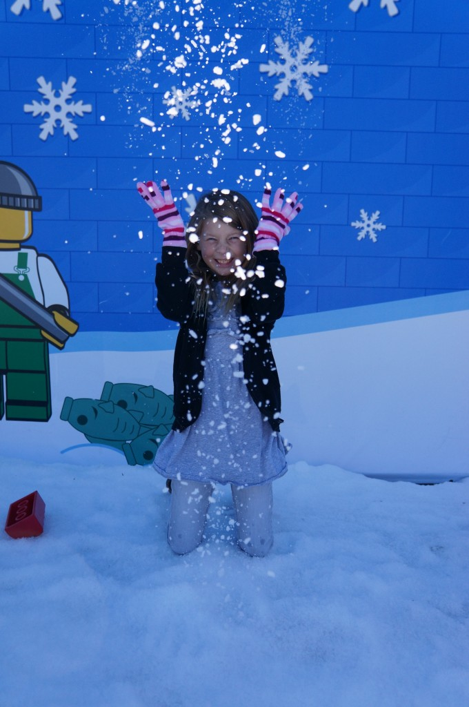 Holiday Snow Days at LegoLand California