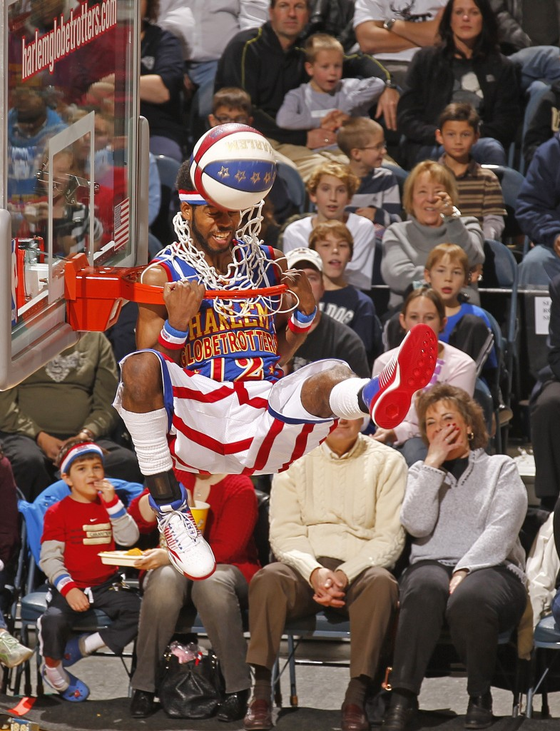Photo courtesy of Jeffrey Phelps for the Harlem Globetrotters
