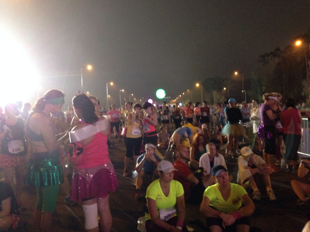 25,000 runners reading for the Princess Half Marathon