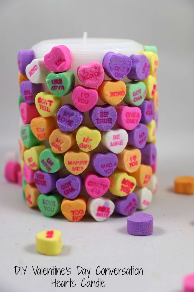 DIY-Valentines-Day-Conversation-Hearts-Candle