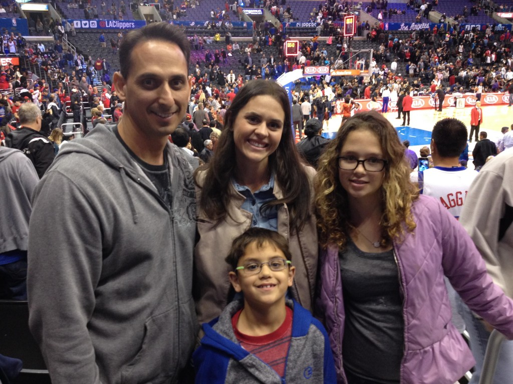 LA-Clippers-Game-Family-Memories