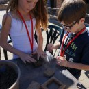 Adobe Brick Making at Mission San Juan Capistrano