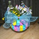 DIY Peeps Floral Arrangement