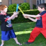 DIY Glow in the Dark Star Wars Light Sabers