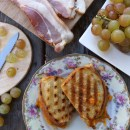 Muscat Grape and Bacon Grilled Cheese Sandwiches