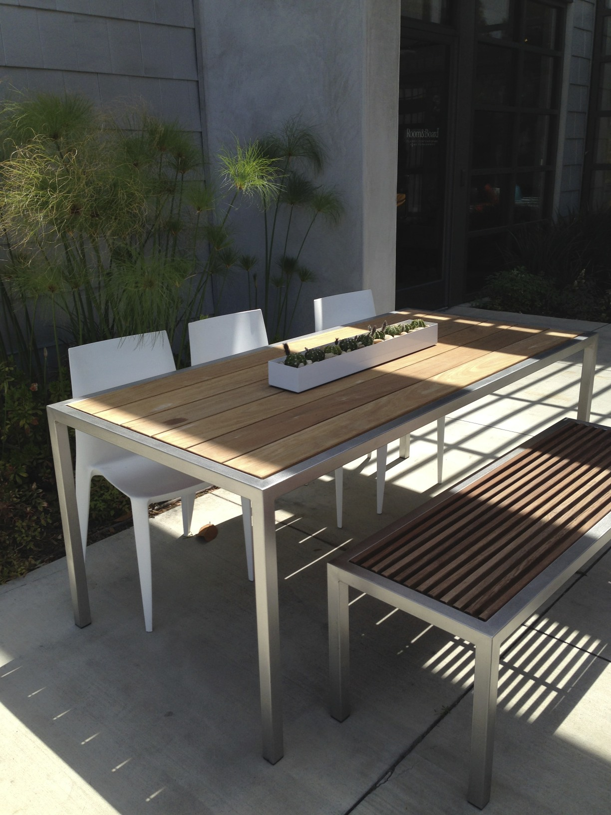 rboutdoordining - Room & Board Summer Outdoor Collection OC Mom Blog OC Mom Blog
