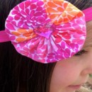 Yo-Yo Flower Headband Tutorial