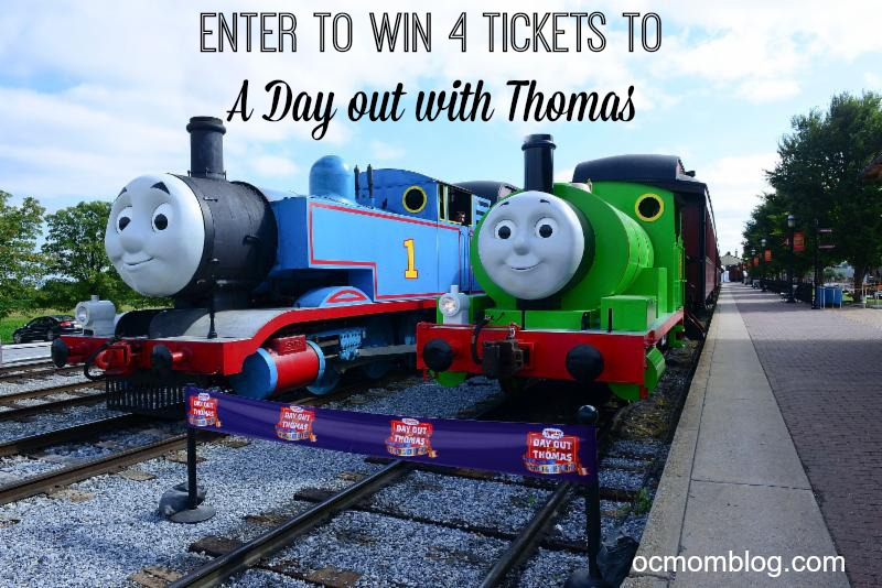 win tickets to a day out with thomas