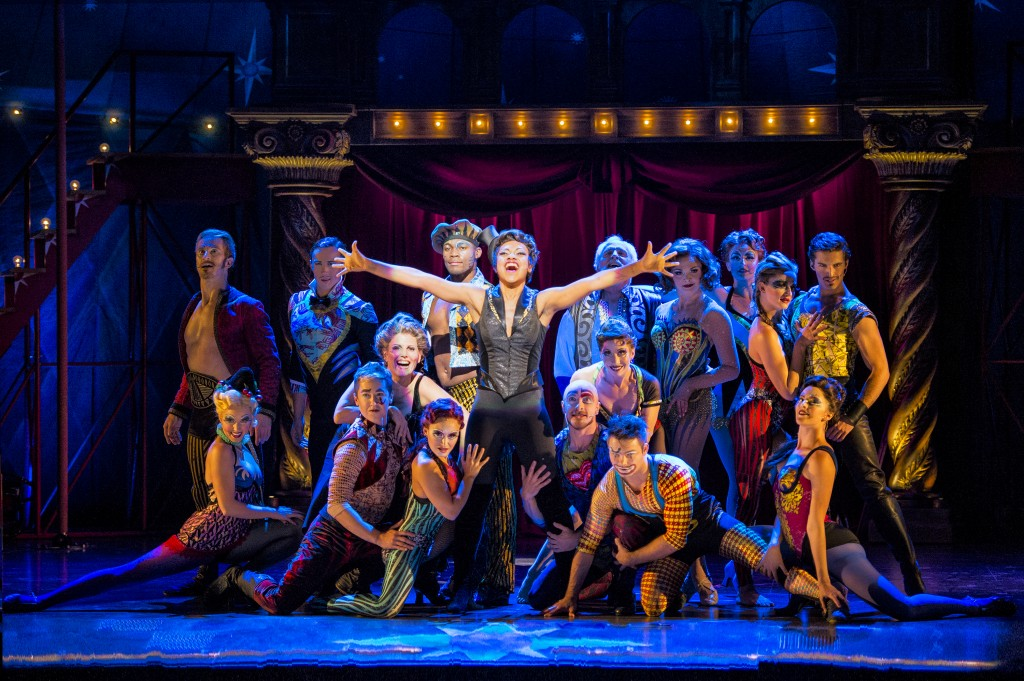 Segerstrom Center - Sasha Allen and the cast of the national touring production of PIPPIN - Photo credit Terry Shapiro_1-1