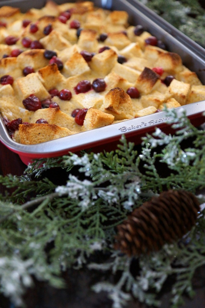 cranberry french toast casserole 1