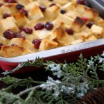 Cranberry French Toast Casserole