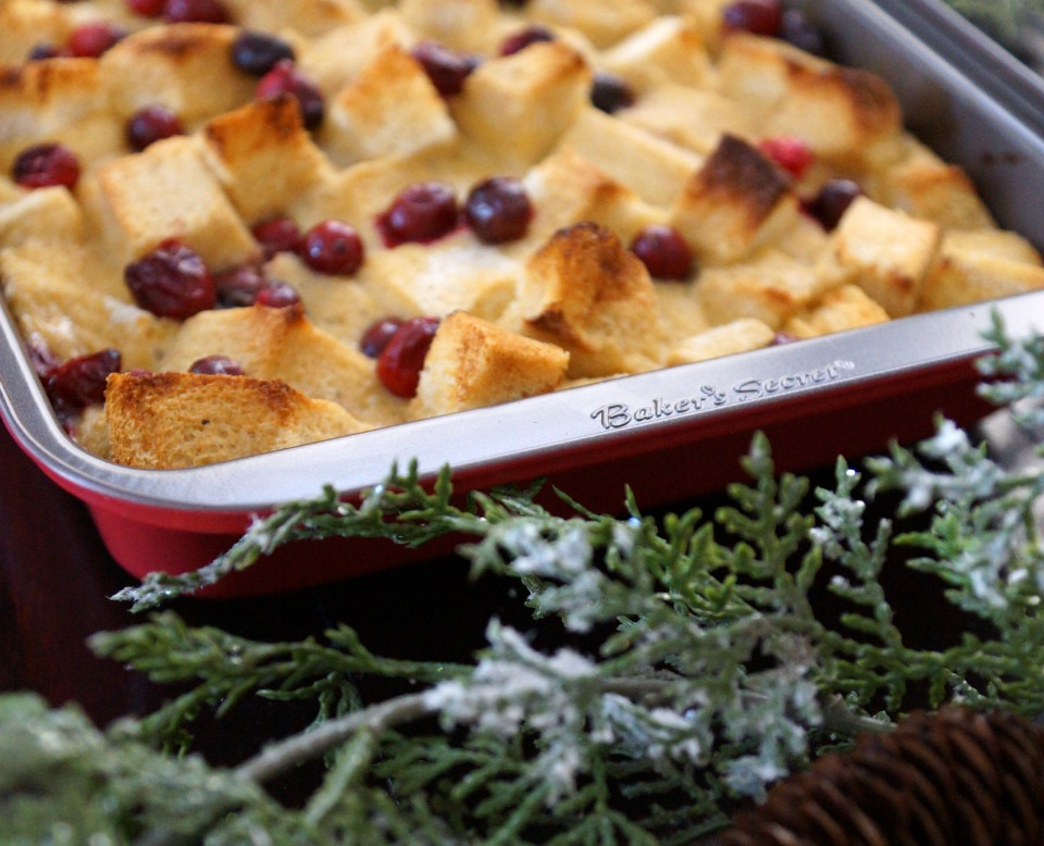 cranberry french toast casserole 4