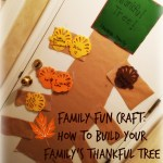 Fall Family Craft: How to Build a 'Thankful Tree'